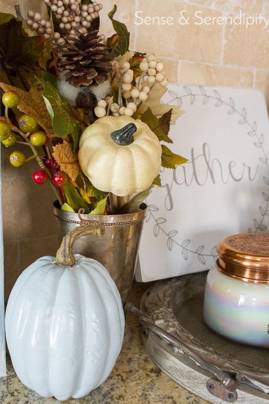 DIY Painted Pumpkins | Sense & Serendipity