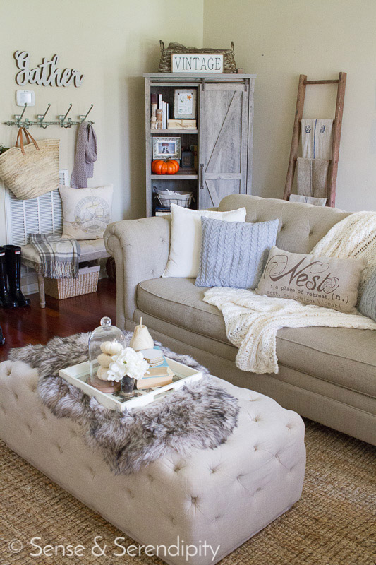 Touch of Fall Home Tour | Sense & Serendipity
