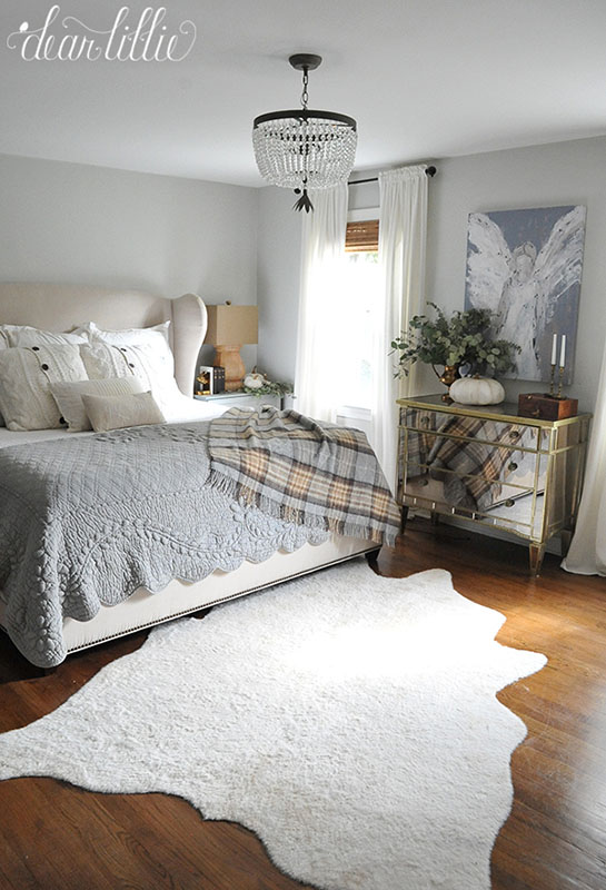 Room by Room Fall Decor Bed Bath | Sense & Serendipity