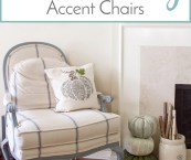 french country accent chair