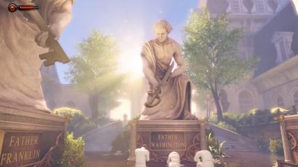 Vater Washington begrüßt uns auf der anderen Seite