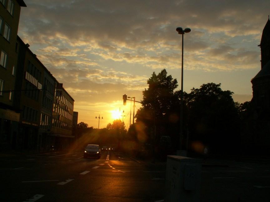 Sonnenuntergang Koblenz