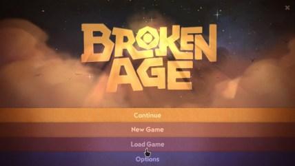 Broken Age Titelschirm