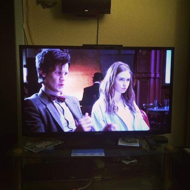Ah ein großartiger Tag endet mit dem großartigen Doktor... - via Instagram