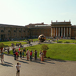 Innenhof der Vatikanischen Museen