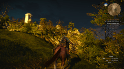 witcher3 hoch zu ross