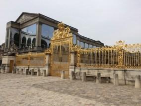 Goldene Türen... wie zuhause - Versailles