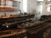 Schiffsmodelle im Marinemuseum