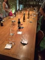 Reste von der Weinprobe