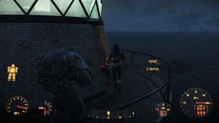Besuch am Leuchtturm