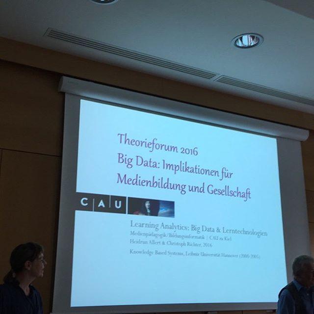 Zweiter Tag Magdeburger Theorieforum, wir starten mit Learning Analytics #9mdtf - via Instagram
