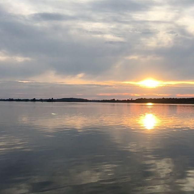 Sunset in slow motion - via Instagram