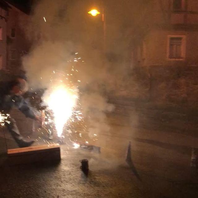 Noch ein wenig Feuerwerk  von gestern <a rel=