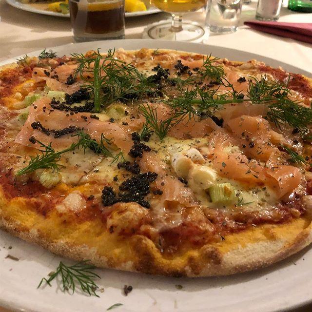 Auch gut: Pizza Salmone #italian <a rel=