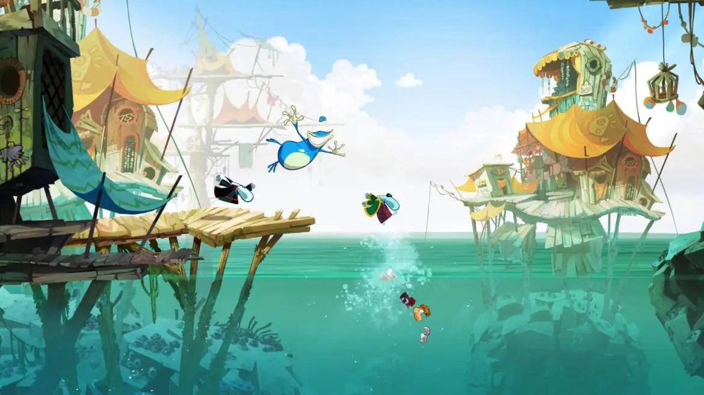 Rayman Legends - för 1-4 spelare blir en stark anledning att äga ett Wii U