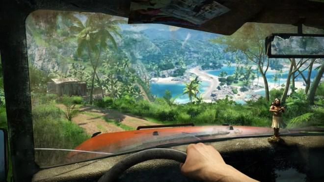 Att köra fordon fungerar väldigt bra och smidigt i spelet