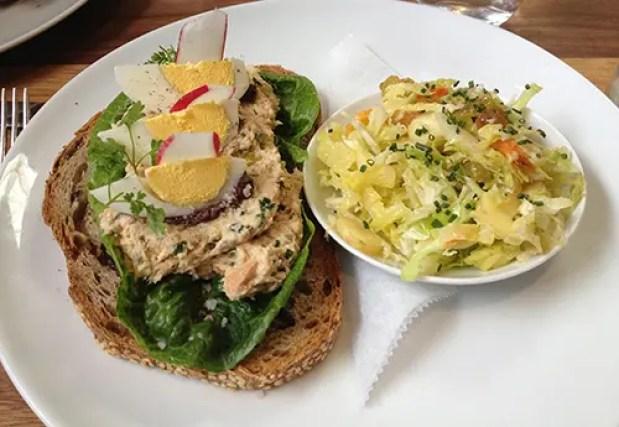 Albacore Tuna Sandwich Farm Shop LA
