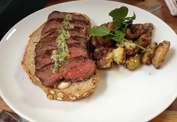 Steak Sandwich Farm Shop LA