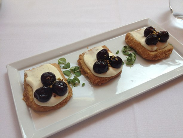 Fig & Olive Dessert Crostini