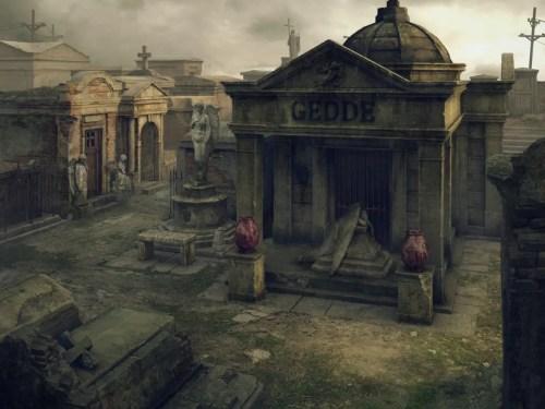 St Louis kyrkogården