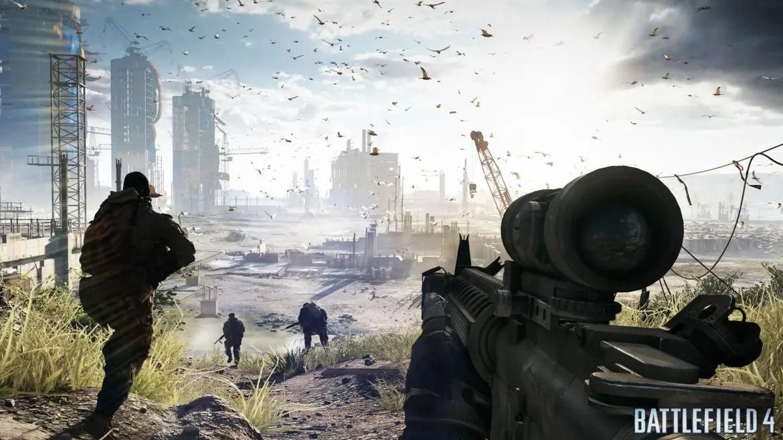 Ett smakprov på Battelfield 4:s skönhet på PS4