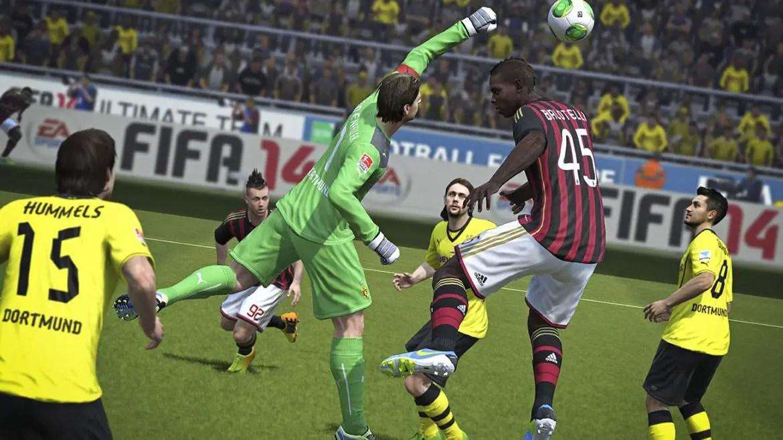 FIFA 14 på PS4 saknar inte bra upplösning