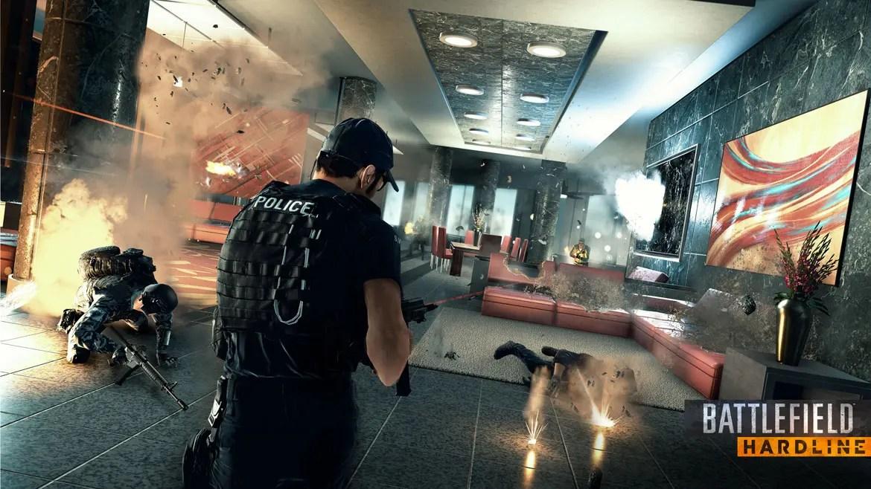 Battlefield Hardline i maxupplösning på monster-PC. Snyggt!