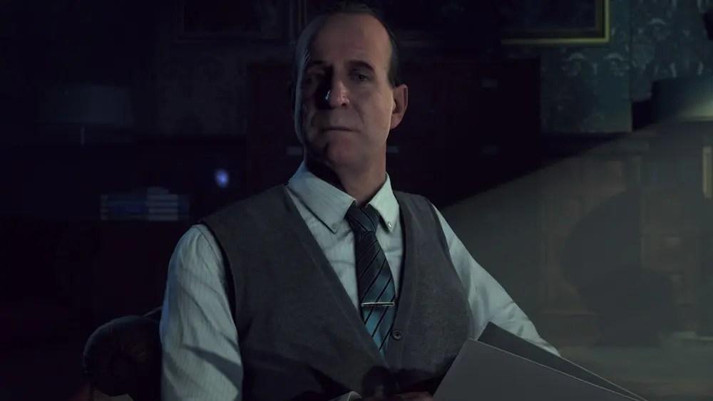 Peter Stormare spelar psykologen Dr Hill
