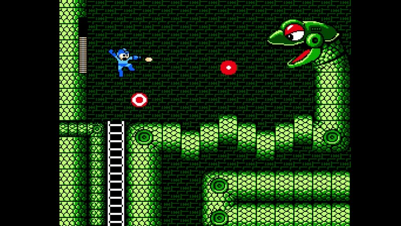 mega-man-legacy-collection Snake Man