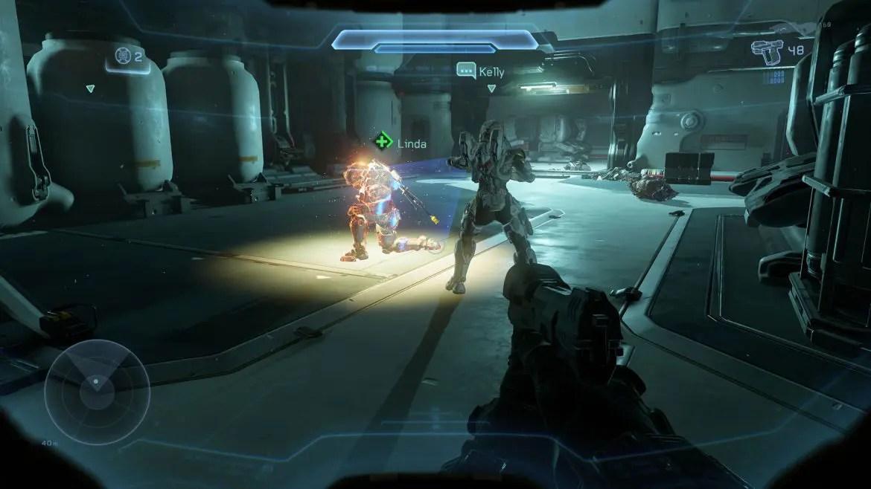 Team work är avgörande i Halo 5: Guardians.