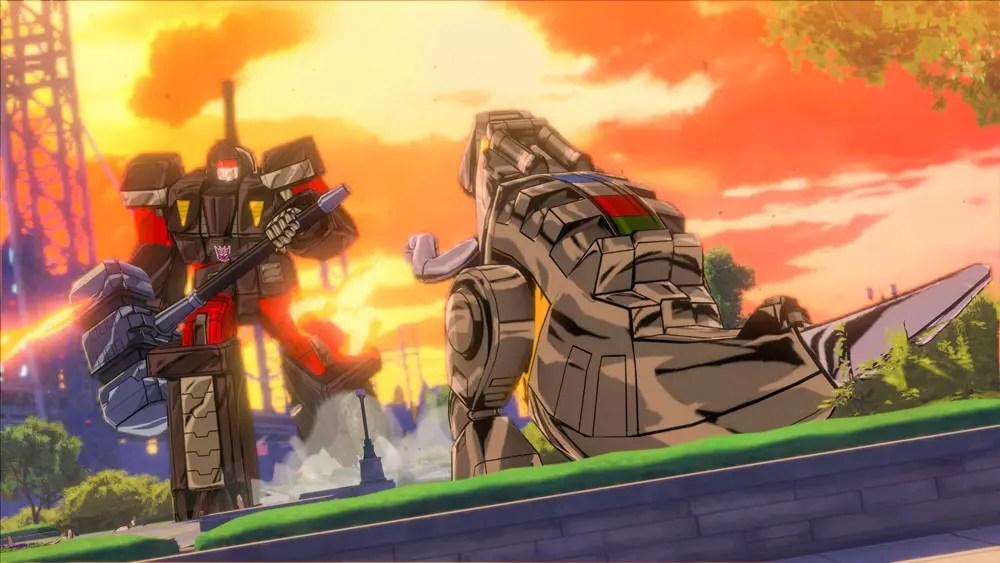 Du kan även låsa upp fler robotar, till exempel Dinobots och deras ledare Grimlock
