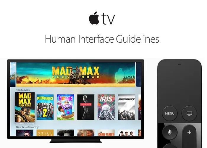 Apple TVs egna operativsystem tvOS.