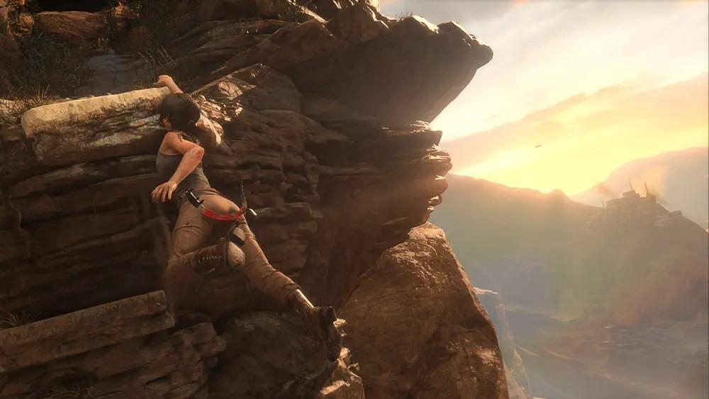Rise of the Tomb Raider är som vackrast i dagsljus.