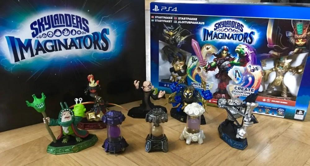 Skylanders Imagninators Senseis