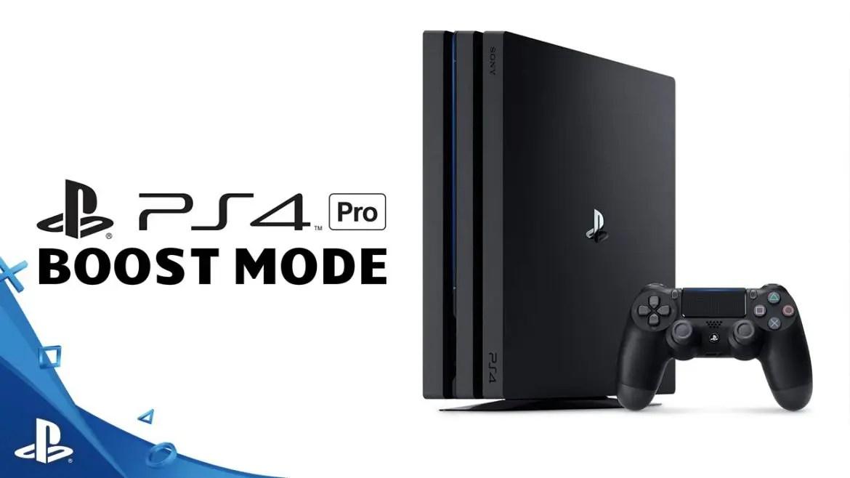 ps4 pro boost mode spel
