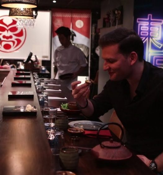 senses testar senshi sushi