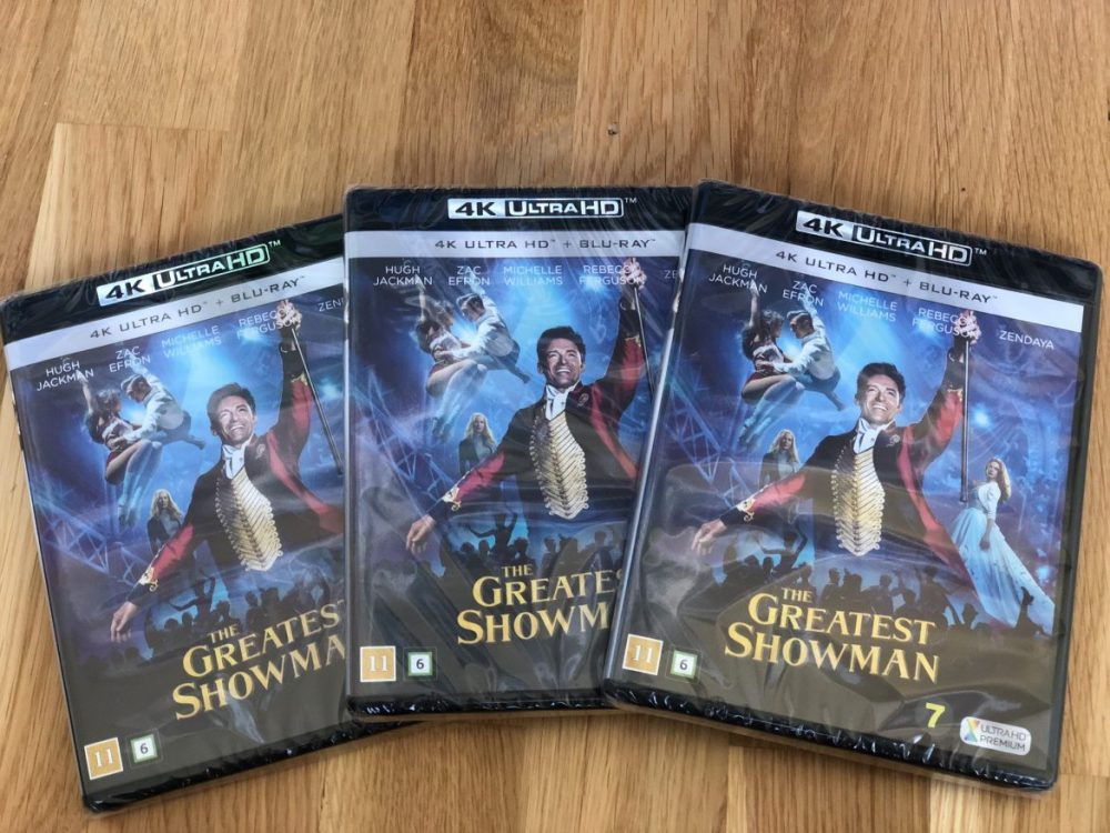 the greatest showman tävling