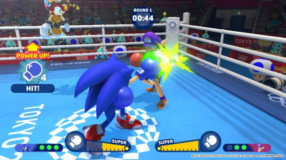 Mario & Sonic at the Olympic Games - Screenshot - Nintendo Switch