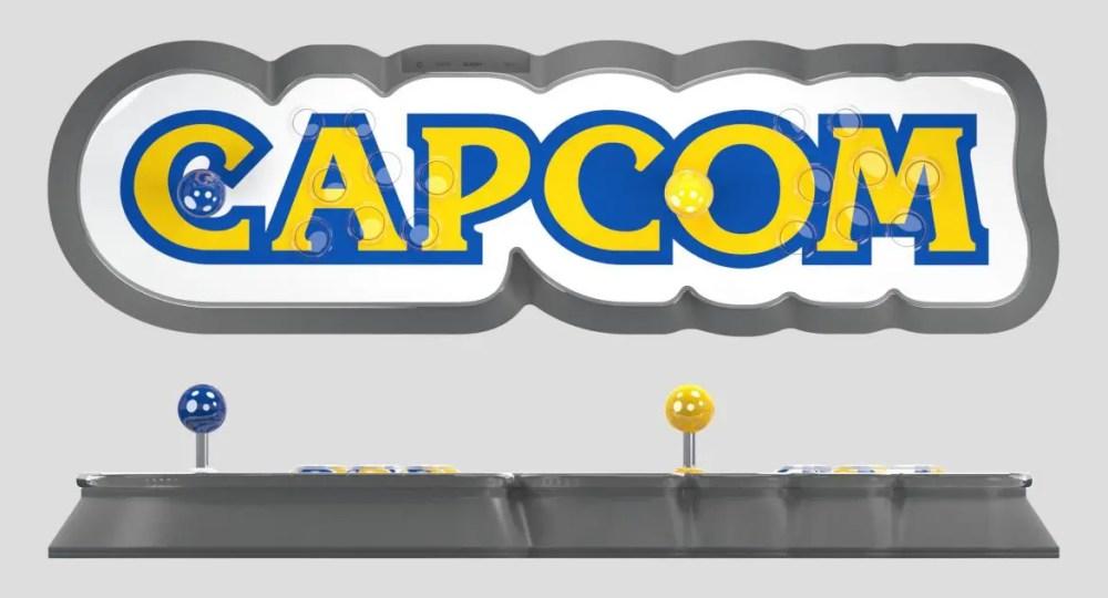 Capcom Home Arcade uppifrån och från sidan