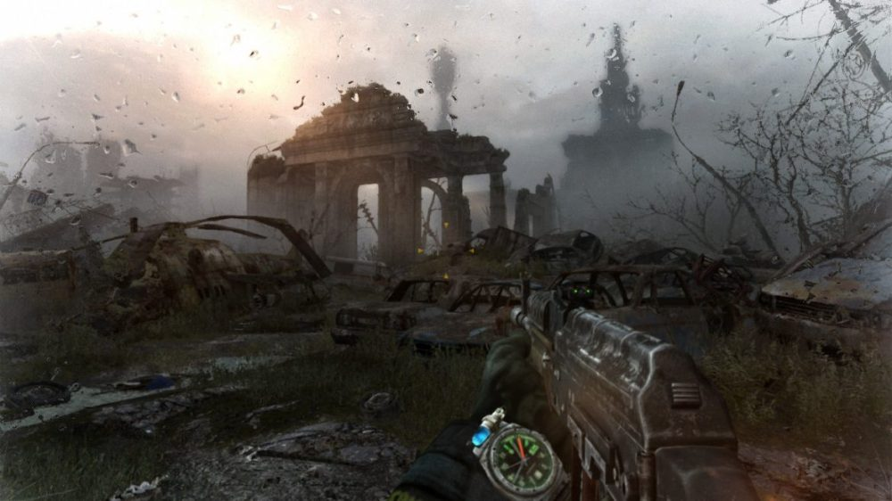 Metro last light redux - copyright 2020 4A-Games - Koch Media - Switch Screenshot