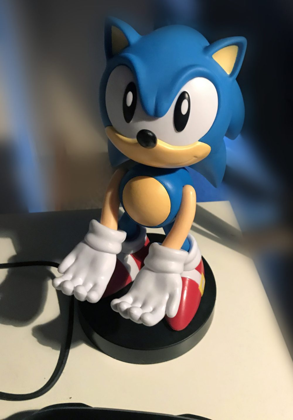 cable guys sonic the hedgehog statue