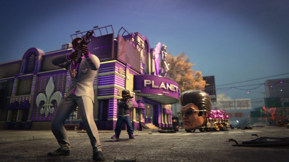 saints row the third remaster johnny gat mask