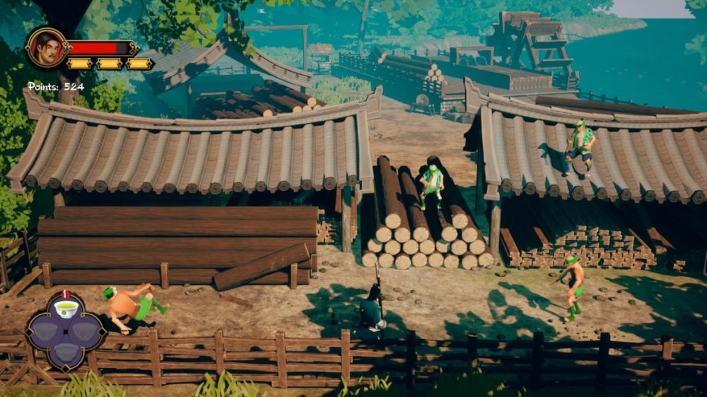 9 Monkeys of Shaolin - Sobaka Studio - screenshot Playstation 4 - copyright 2020