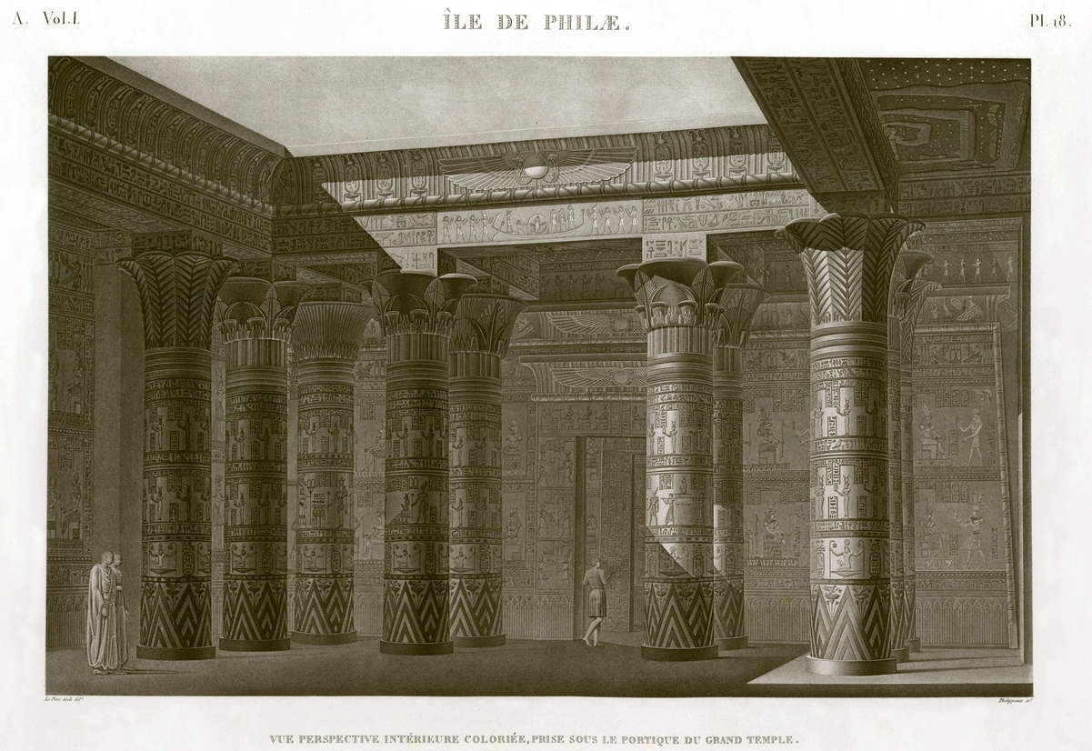 Temple Philae island