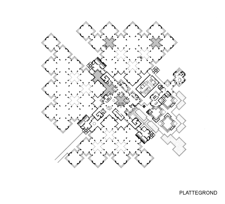 Centraal Beheer office Apeldoorn StructuralismCentraal Beheer office Apeldoorn Structuralism Plan