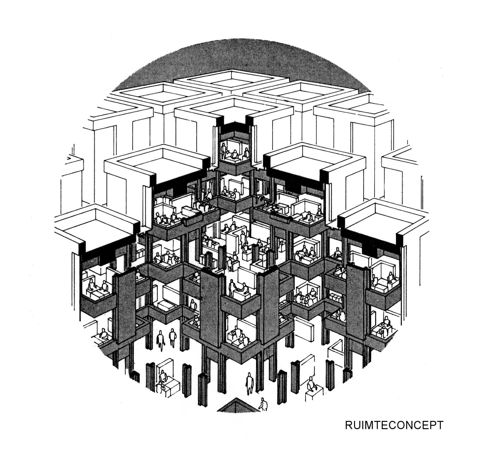 Centraal Beheer office Apeldoorn Structuralism Section
