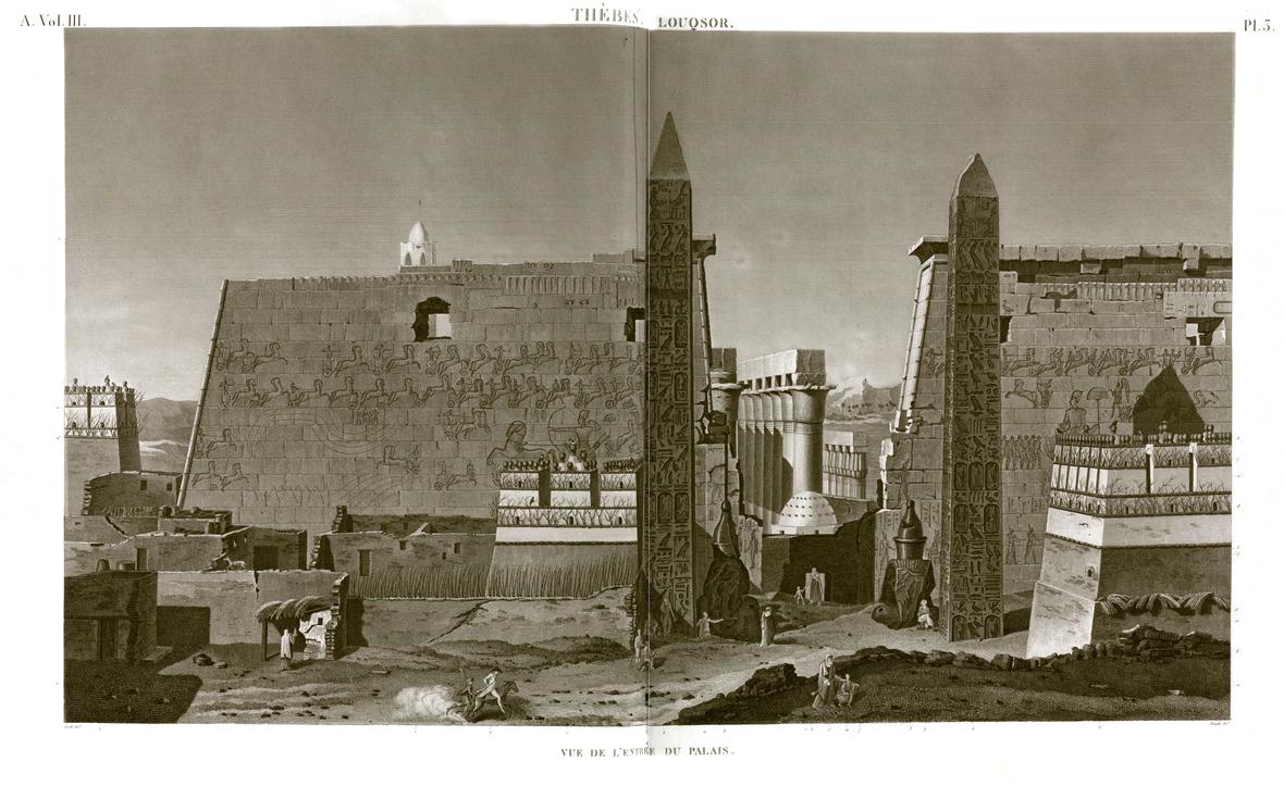 Luxor Temple Description de l'Egypte