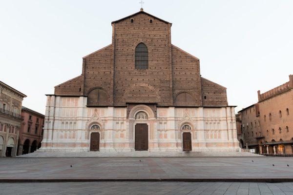 San Petronio facade, Piazza San Maggiore - Andrea Frascari