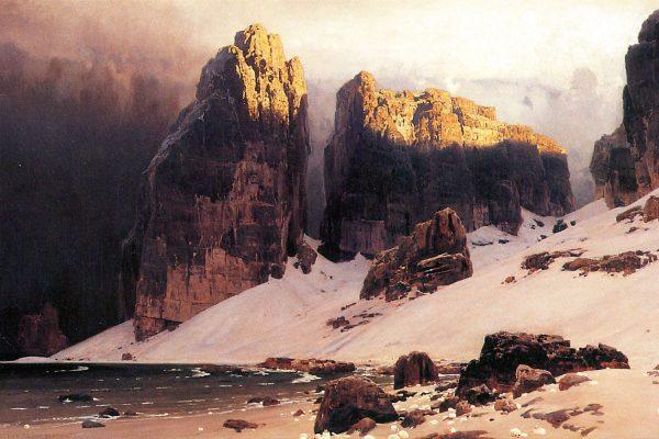 Eugen Bracht The Shore of Oblivion 1889