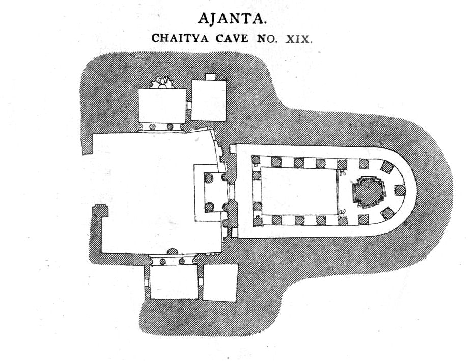 Ajanta Caves Plan